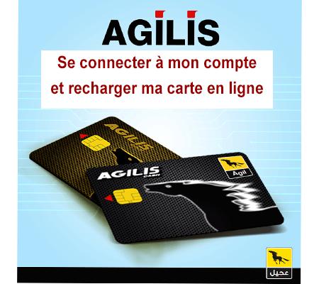 Connexion à mon compte Agilis.tn
