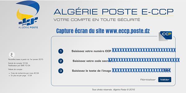 connexion eccep poste algerie