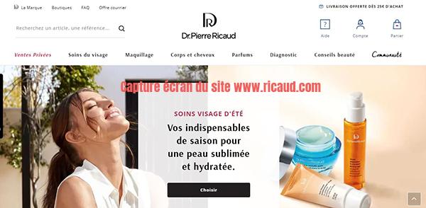 vente produits beauté en ligne