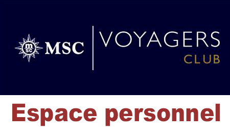msc voyagers club espace personnel